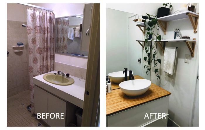 modern small bathroom remodel
