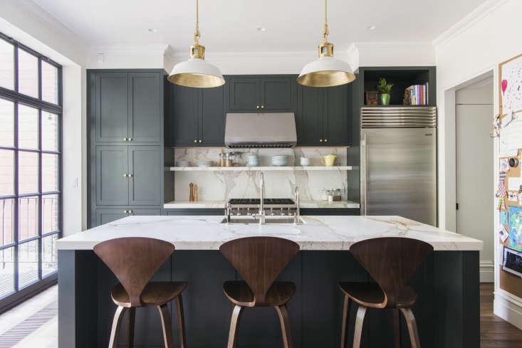 modern sage green kitchen cabinets