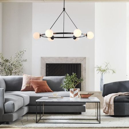 Living room lighting placement 1