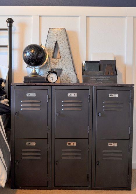 Room accessories for teenage guys_locker cupboard