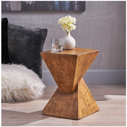 Side tables to update lounge room on a budget