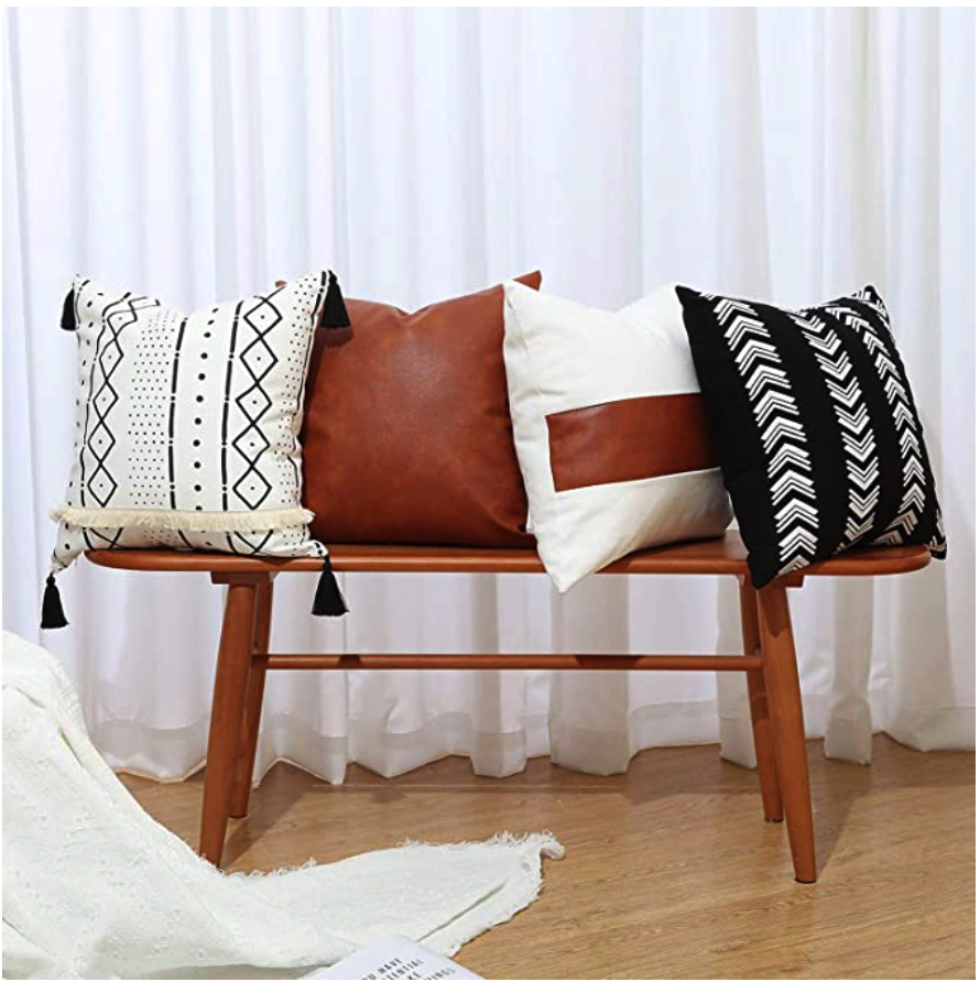 Update your living room with cushions