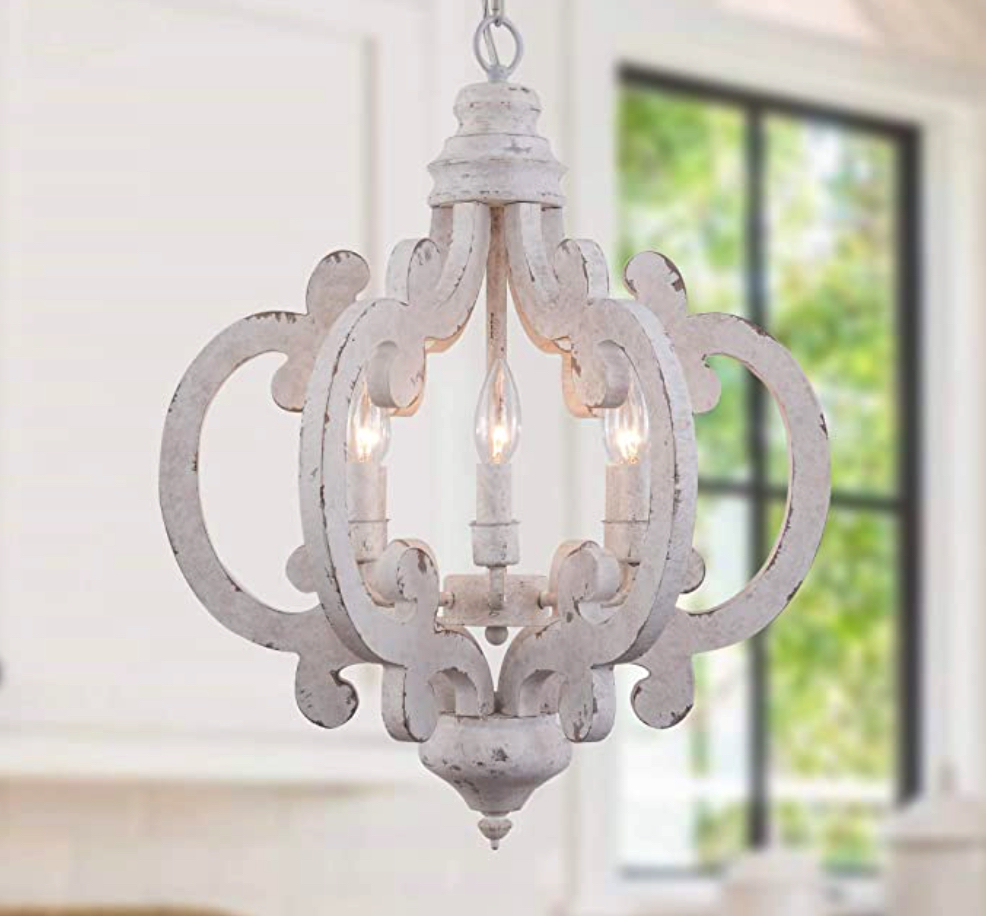 Add Instant Glam with these Master Bathroom Chandelier Ideas