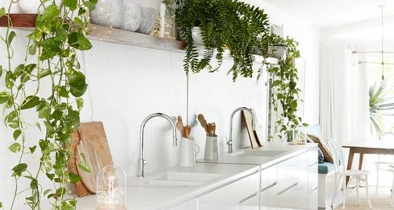 How to Style a White Kitchen