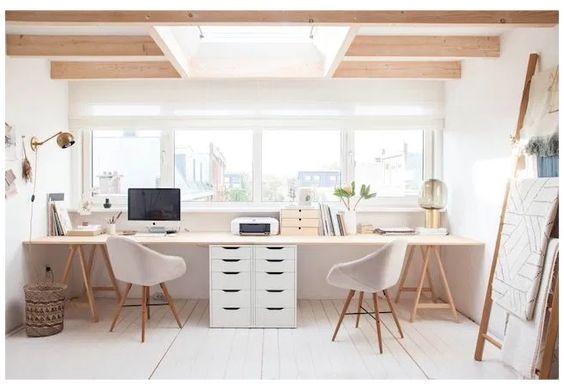 shared office desk ideas