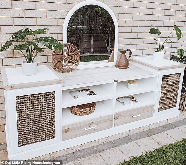 upcycled TV Cabinet DIY Upcycle