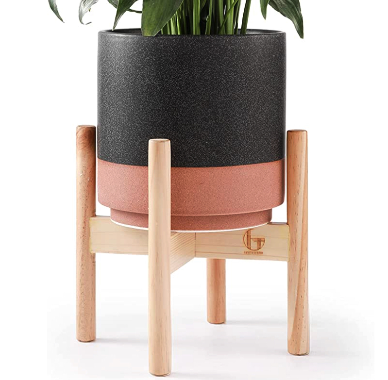 Pot plant stand for teenage bedroom decor