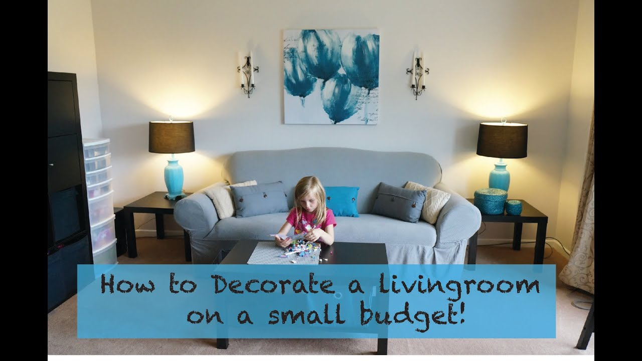 Living Room Ideas on a Budget That You Can Use