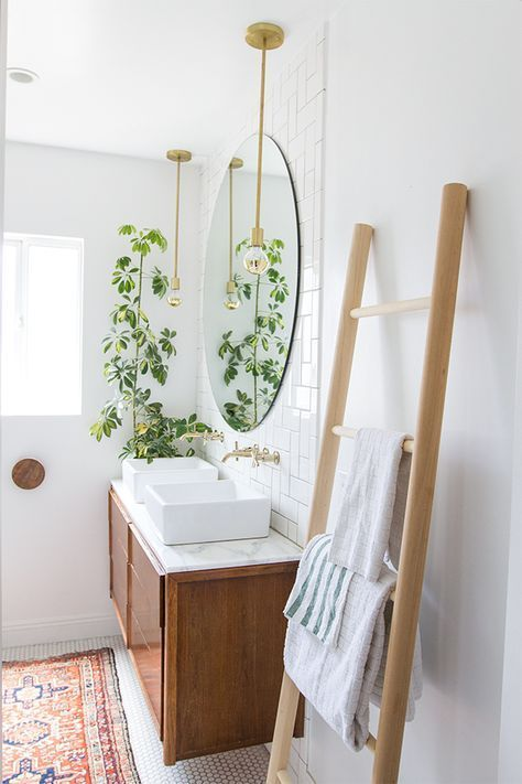Small bathroom makeover on a budget