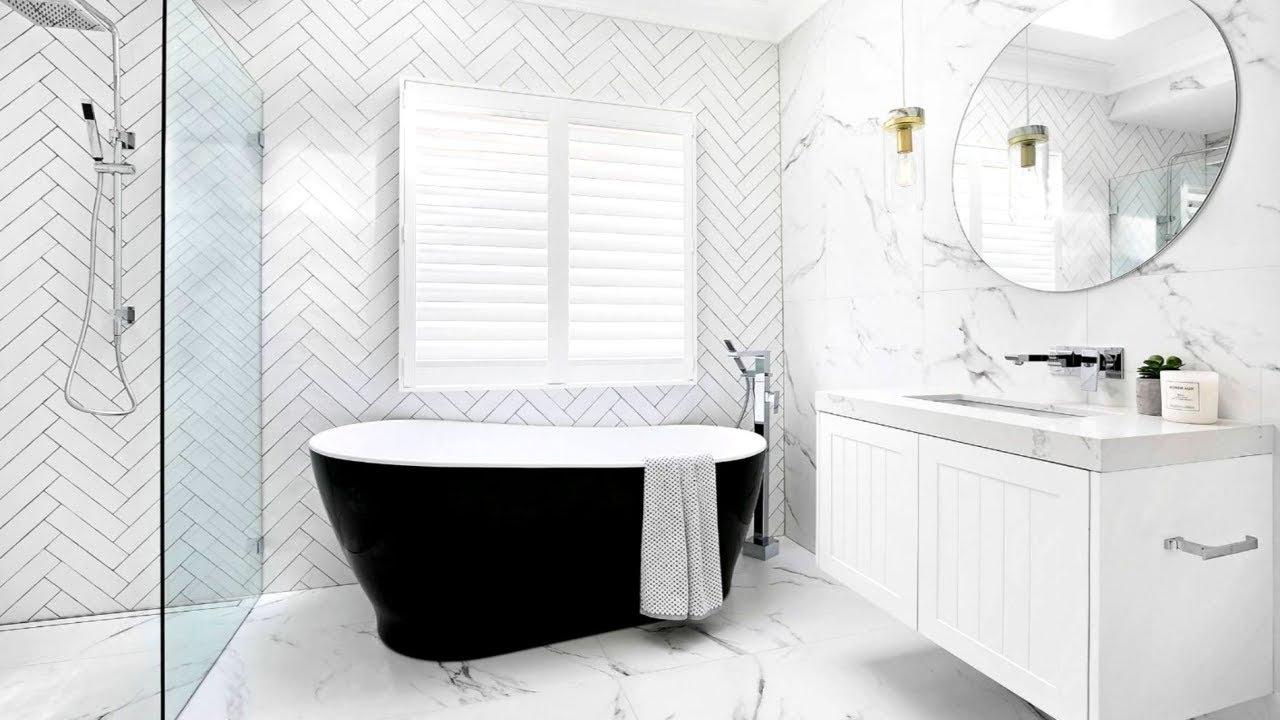 Contemporary Bathroom Suite – White Bathrooms