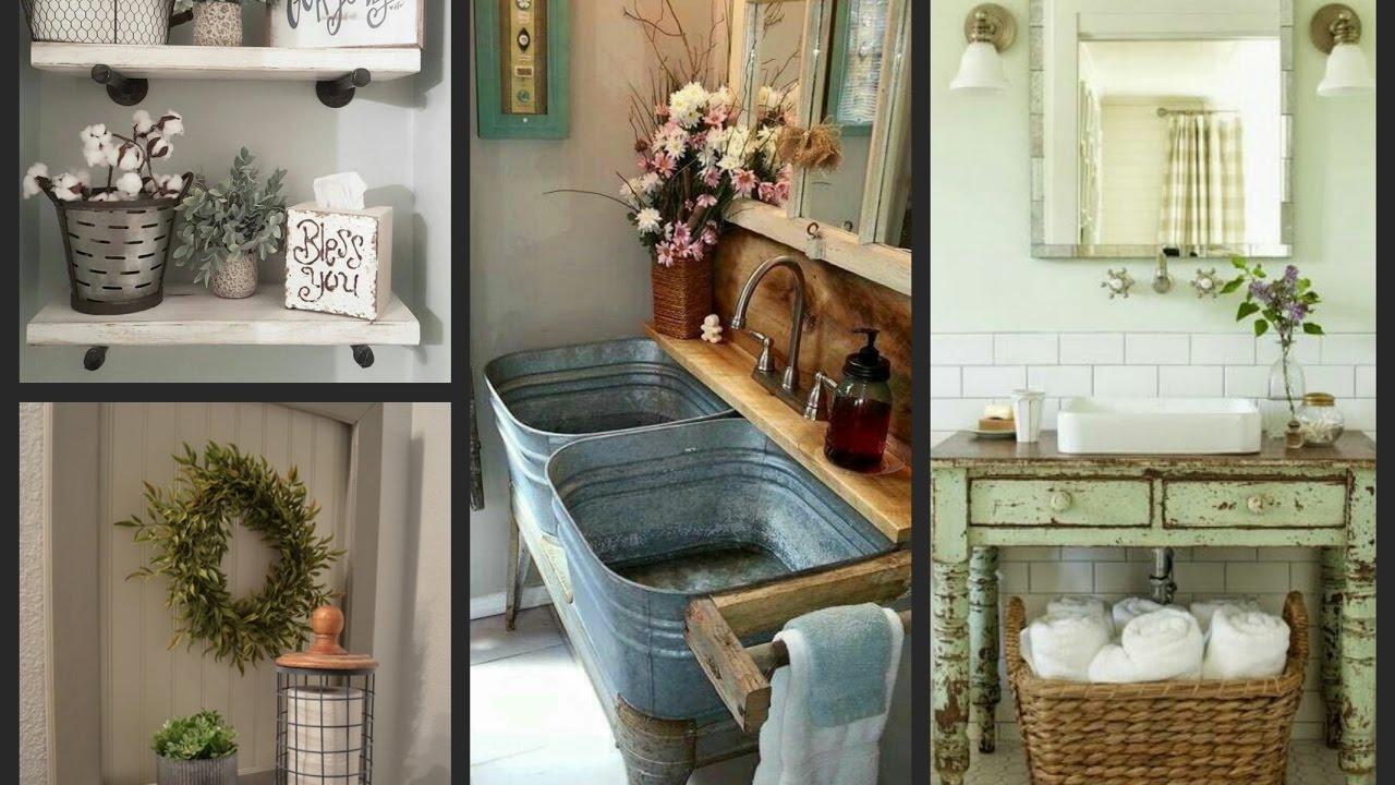 Farmhouse Bathroom Ideas to Design Your Own Home
