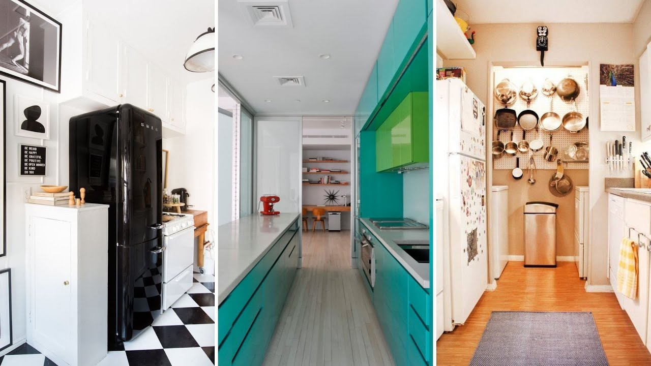 Galley Kitchen Ideas – Create an Easy To Use Kitchen