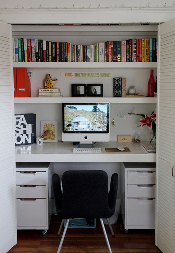 How to Create a study in a small space