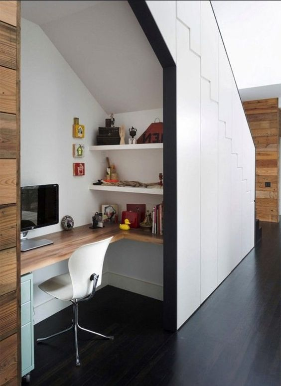 How to make a home office with no space