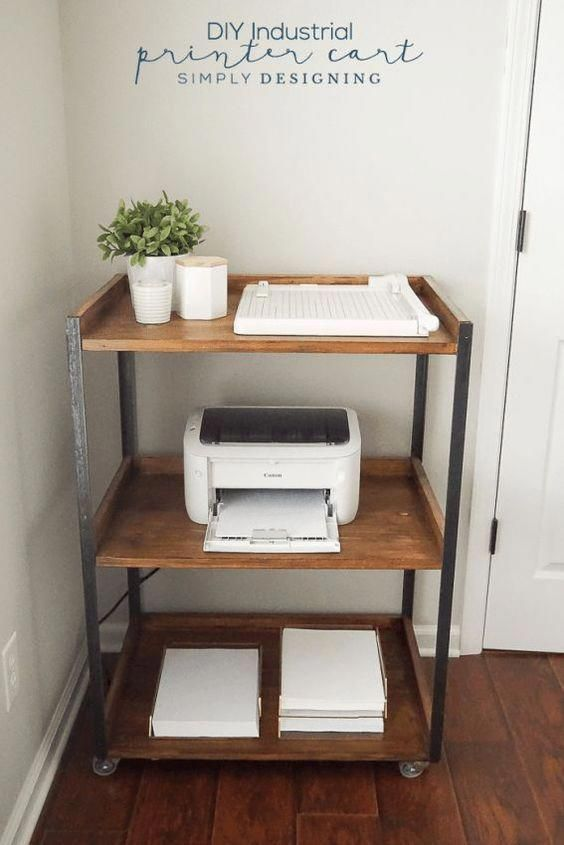 trolley for organising home office