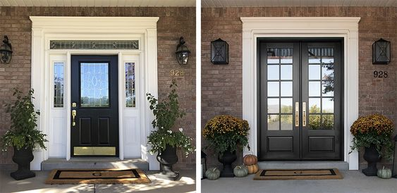 double front entry door ideas